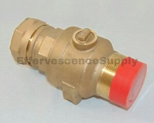 Ford 2 Curb Stop Brass Ball Valve Lead Free