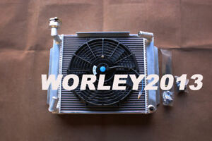 Aluminum Radiator Fan For Mg Mga 1500 1600 1622 De Luxe Manual 1955 1962