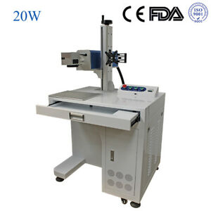 20w Raycus Fiber Laser Marking Machine Laser Engraver For Metal