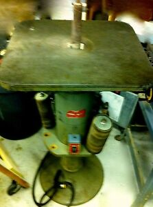 State B Spindle Sander With Tilting Table