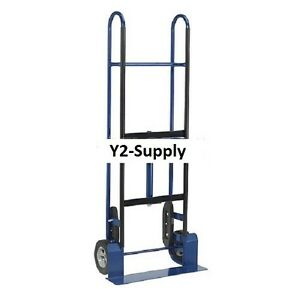 New Steel Appliance Hand Truck 800 Lb Capacity 8 Mold on Rubber Wheels