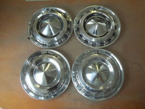 1956 56 Chevrolet Chevy Bel Air Hubcap Rim Wheel Cover Hub Cap Oem 15 Used Set