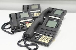 Lot Of 4 Intertel 550 4500 Executive Digital Lcd Office Multiline Business Phone