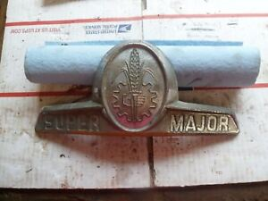 Ford Fordson Super Major Tractor Hood Emblem