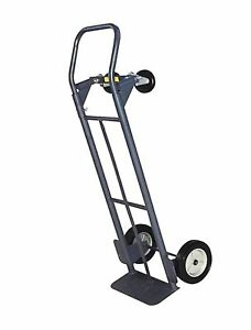 Milwaukee Hand Trucks 32152 Convertible Truck With 8 inch Puncture Proof Tires