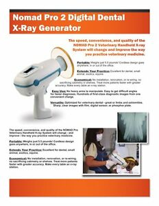 Nomad Pro2 Veterinary Handheld Portable Dental X ray Aribex