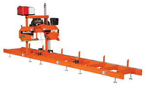 Wood mizer Lt15 Portable Sawmill 25hp W power Feed Bed Extension 15 Blades