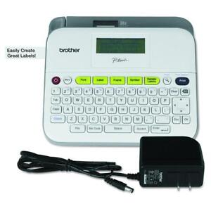 Brother P touch Ptd400ad Label Maker With Ac Adapter