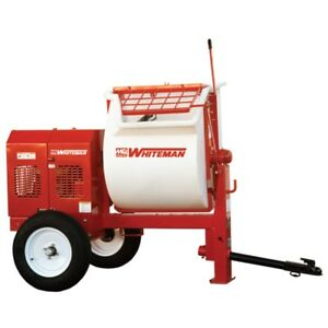 Multiquip Whiteman Wm90pe Poly Drum Mortar Mixer Electric 3hp 230v 1 phase