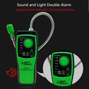 Portable Gas Leak Detector Benzene Propane Methane Natural Gas Safe Alarm Sensor
