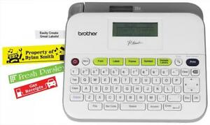 Brother P touch Ptd400vp Versatile Label Maker With Carry Case