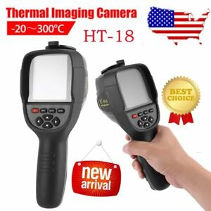 Ht 18 Hd Thermal Imaging Camera Infrared Imaging Heat Sensor Built in Battery Us