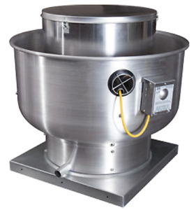New 3 Phase Direct Drive Centrifugal Upblast Exhaust Fan 3500 Cfm