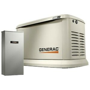 New Generac 19 5 22kw 120 240 1 phase air Cooled Guardian Generator ng lp
