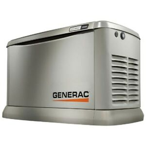 New Generac 19 5kw 22kw 120 240 1 phase Air Cooled Guardian Generator ng lp