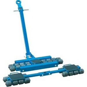 New Steerable Machinery Moving Skate Roller Kits 24 Ton Capacity