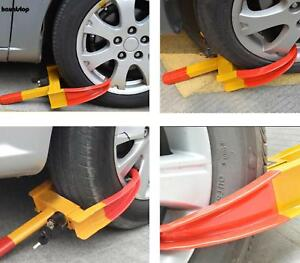 Auto Car Truck Wheel Lock Clamp Boot Tire Claw Trailer Anti Theft Towing Useful