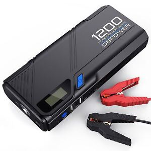 Portable Car Jump Starter Battery Charger Booster Power Box Heavy Duty Truck