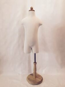 Lamodeldisplay 1 2 Years Old Children Body Dress Form With Partial Legs