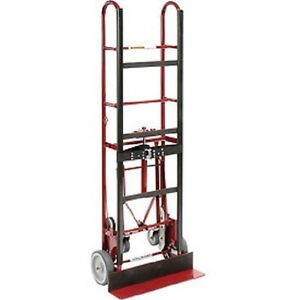 New 4 Wheel Professional Appliance Hand Truck 1200 Lb Capacity