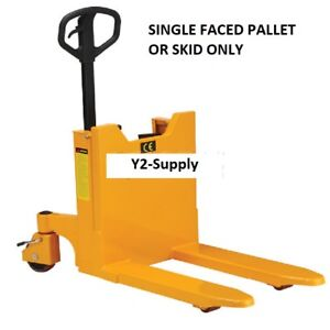 New Manual Hand Pump Portable Container pallet Skid Tilter 2200 Lb Capacity
