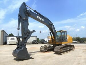 2007 John Deere 270d Lc Track Excavator With Only 905 Hours