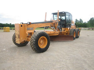 2011 Case 885b Motor Grader With Only 4763 Hours