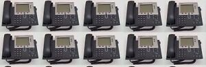 Lot Of 10 Cisco Cp 7940g Ip Phone 7940