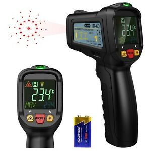 Non contact Laser Thermometer Temperature Gun Cooking Bbq Automotive Industrial