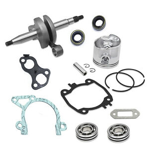 New Roller Kit Fits Stihl Ts410 Ts40 Crankshaft Piston Bearing Rings Gasket