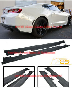 Eos Body Kit For 16 Up Camaro Zl1 Style Abs Plastic Side Skirts Panels Extension