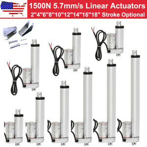 Multi function Linear Actuator 1500n 330lbs Lift Heavy Duty 12v Motor