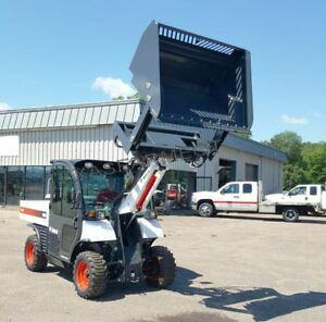 60 High Dump skid Steer Toolcat Bucket ships Free To Tx Surrounding States