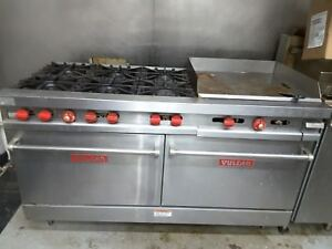 Vulcan 60 Burner With 24 Grill 2 Oven Range