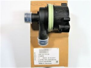 Vw Volkswagen Oem 11 17 Touareg 3 6l V6 Water Auxiliary Pump 059 121 012 B