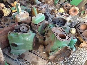 Antique John Deere M 40 420 430 440 Engine Blocks Farmerjohnsparts