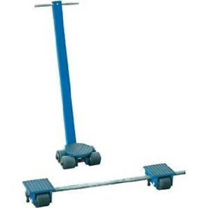 New Vestil Steerable Machinery Moving Skate Roller Kits 6 Ton Capacity