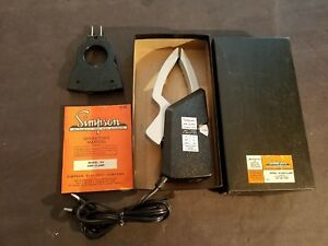 New In Box Simpson 154 2 Amp clamp 1542 With Model 101 Adapter