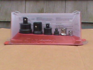 Snap On Usa 6 Piece Combination Drive Adaptor Set 1206gs New