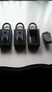 3 Original Supra Stor a key Dial Combination Key Storage Lock Box