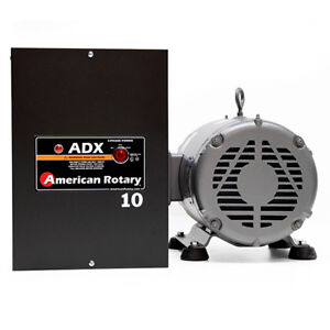 American Rotary Adx10 10hp 240v Wall Mount Adx Series Rotary Phase Converter