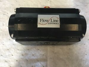 Flow Line Actuator Size 0400 Rack And Pinion Double Acting Aluminum Actuator
