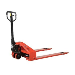New Super Low Profile Pallet Truck 2200 Lb Capacity 33 X 44