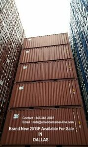 10xbrand New One Trip 20 Gp Container For Sale In Dallas For Us 2550 unit