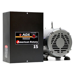 American Rotary Adx15 15hp 240v Wall Mount Adx Series Rotary Phase Converter