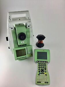 Leica Tcrp1203 R300 3 Robotic Total Station Allegro Mx Survce Reconditioned