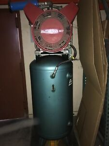 Atlas Copco Automan Ae7 Air Compressor Great Working Condition