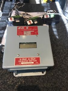 Emon Ac Kilowatthour Meter Model 480100 d 100a 277 480v 3 Phase Reconditioned