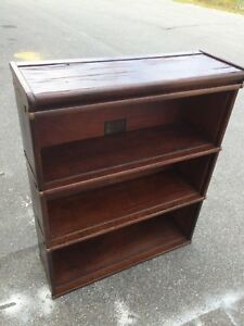 Oak Globe Wernicke Section Barrister Bookcase D 12 1 4 198 3 Sections Lawyers
