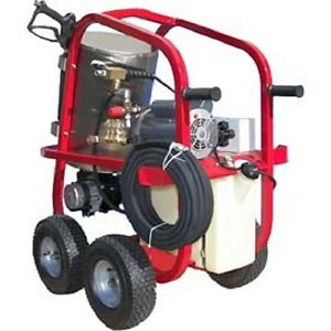 New Hot 2 go 110v Electric Hot Water Pressure Washer 1300 Psi 1 75 Gpm